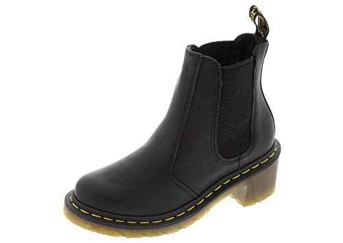 Dr. Martens Cadence Chelsea Boot Black Greasy UK 5 (US Women