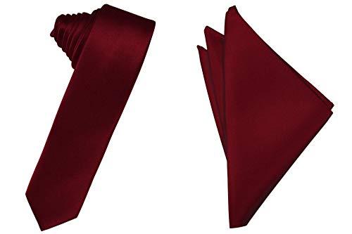 Skinny Necktie Hanky Set- 2.75