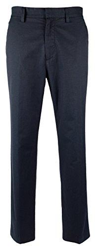 Nautica Men's Flat Front Slim Fit Twill Chino Pant, True Navy, 38W x 32L ()