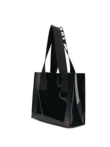 Dolce Gabbana Donna A E Borsa Pvc Nero Bb6696ak431hny63 Mano nxRH4nwZ