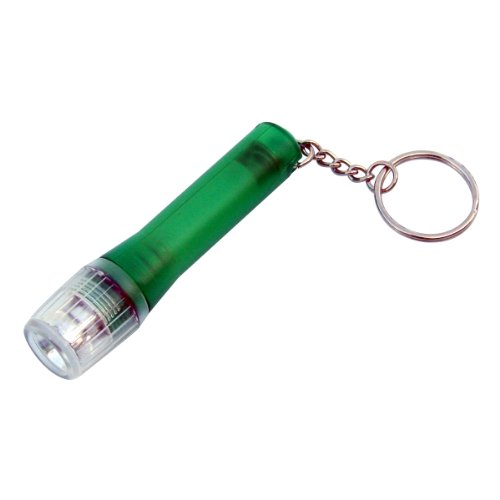 Dorcy 41-1415 Button Cell Keychain LED Flashlight, Assorted Colors