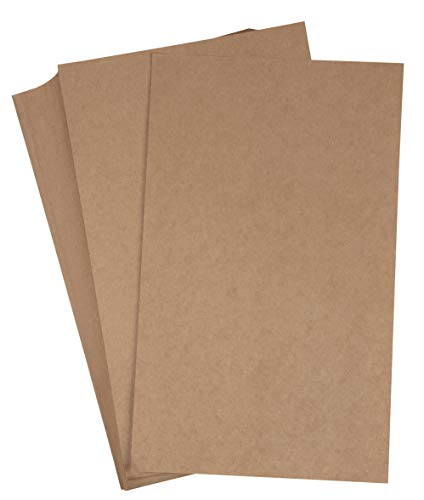 Brown Kraft Paper - 96-Pack Legal Sized Stationery Paper, 120GSM, Perfect for Arts, Crafts, and Office Use, 8.5 x 14 inches ()