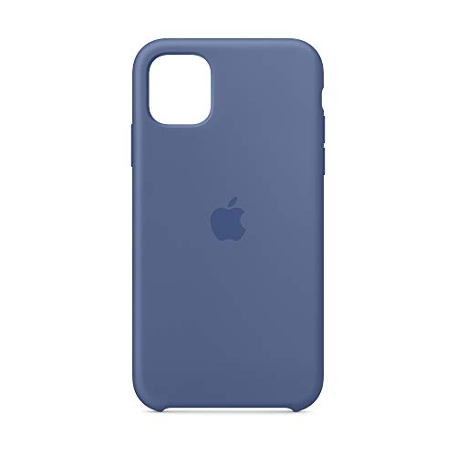 Apple Silicone Case (for iPhone 11) - Linen Blue