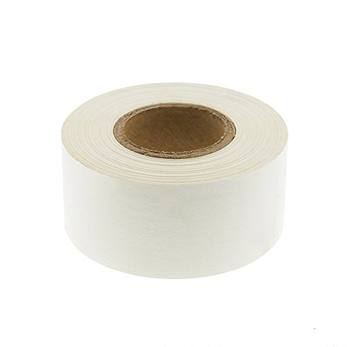 - ChromaLabel 1 inch Color-Code Labeling Tape | 500 inch Roll (White)