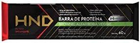 BARRA DE PROTEÍNA HND 60G - VARIOS SABORES (BROWNIE VEGANA)