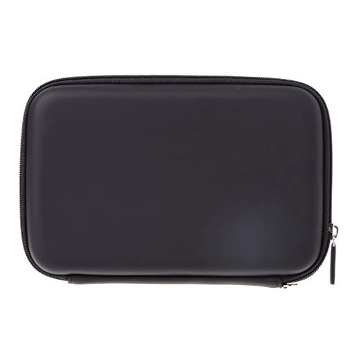 HOWWOH 7 Inch Hard Shell Carry Bag Zipper Pouch Case for Garmin Nuvi Tomtom Sat Nav GPS