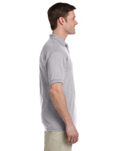 Gildan 5.6 oz. Ultra Blend 50/50 Jersey Polo with Pocket>5XL SPORT GREY G890