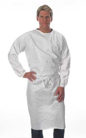 Disposable Sleeve Apron, White, S Pack of 10 by LAKELAND (Image #1)