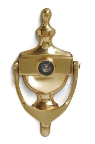 Imex El Zorro 76060 Llamador columna, lat/ón brillo, 160 mm ,