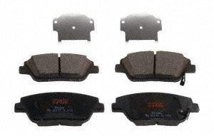 TRW TPC1444 Premium Ceramic Front Disc Brake Pad (Hyundai Sonata Front Brake)