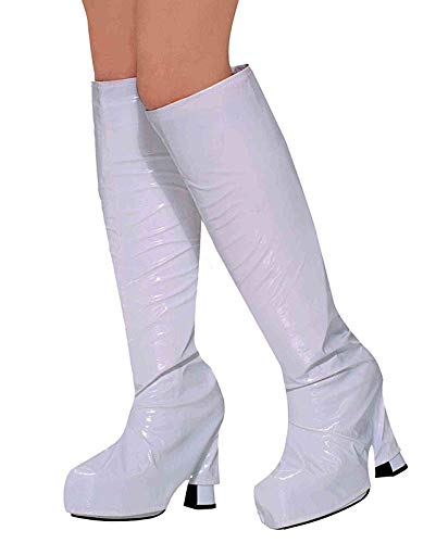 Halloween Costumes by HCFS White 60's Go Go Boot Tops -
