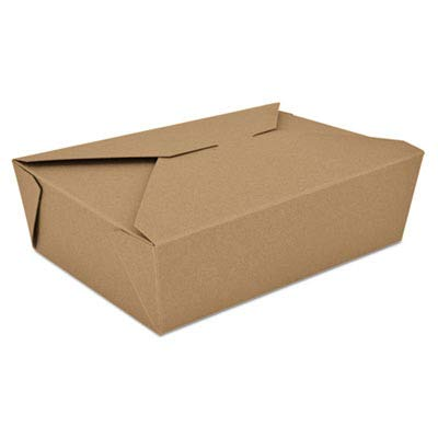 SCH0763 - Champpak Retro Carryout Boxes, Kraft, 7-3/4 X 5-1/2 X 2-1/2, Brown