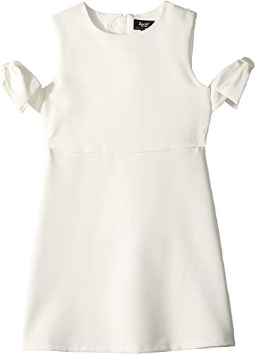 Bardot Junior Girl's Iva Shift Bow Dress (Big Kids) Gardenia 10