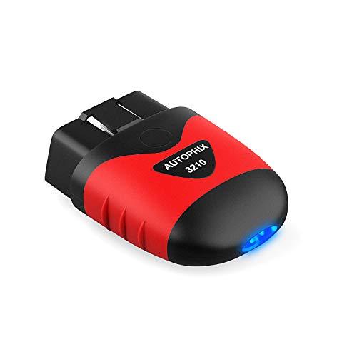 AUTOPH OBD2 OBD II Scanner Enhanced OBD II Scanner Code Reader Auto Diagnostic Check Engine Light for All OBD II Car After 1996[Upgrade Version] (Black) ... ...