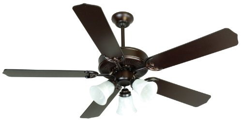 Craftmade K10423, Pro Builder 205 C205OB Ceiling Fan in Oiled Bronze with 52