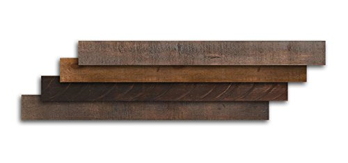 AS-IS BRAND Wood Walls (RAW-ISH) - Glue & Stick Aged Wood Planks (20 Sq. Ft) by AS-IS (Image #4)