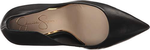 Jessica Simpson Women's Cambredge, Black Soft Nappa, 8.5 Medium US