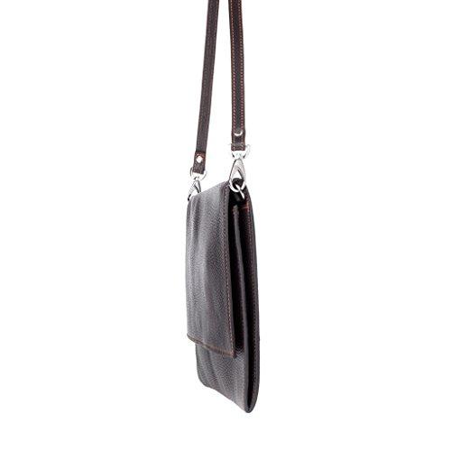 Dudu - Sac porté épaule - Dollaro - Stella - Marron foncé - Femme