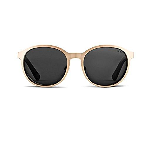 Zeal Optics Unisex 6th Street Polarized Rose Gold/Dark Grey Polarized Lens Sunglasses by Zeal (Image #2)