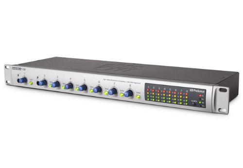 PreSonus DigiMax D8 Eight-Channel Preamp