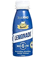 SodaKing Lemonade 250ml/Sparkling Soda Water Syrup Flavour Drink Mix/Makes 6L