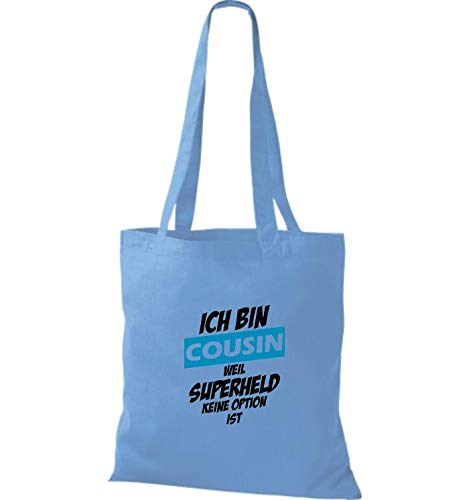 Wm10109698Borsa Celeste Blue donna Shirtstown Tote da 9ED2IWH