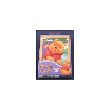 Amazon.com: Winnie the Pooh juego de cartas Poker Disney ...
