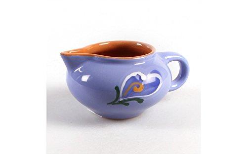 Borisov Gravy boat. Color: blue, material: clay. Tableware kitchen (Ware Gravy)
