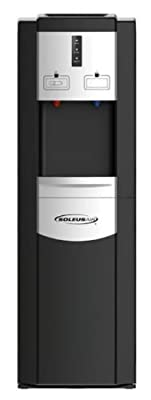 Soleus Air #WA1-02-21A Aqua Sub Easy-load Water Cooler, Black