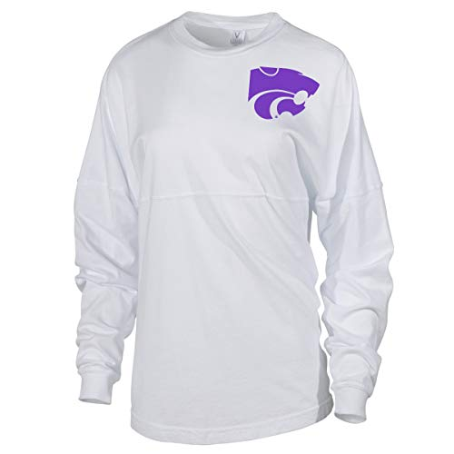 Official NCAA Kansas State Wildcats KSU Women's LS Spirit Jersey ()