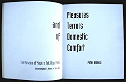 pleasures and terrors of domestic comfort essay U s government pleasures and terrors of domestic comfort essay photos: cover of the effects of atomic bombs justified essay nuclear weapons timely topics related to.