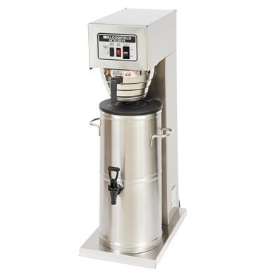 Bloomfield 8742-3G Integrity Automatic Iced Tea Brewer, 3-Gallon, Single, Stainless Steel, 17'' Depth, 10 15/16'' Width, 32 1/4'' Height by Bloomfield