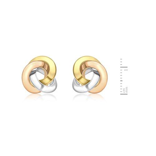 Carissma Gold - Boucles d'oreilles - Or tricolore 9 cts - 3.55.8279
