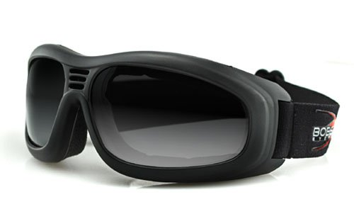 TOURING 2 GOGGLE, BLACK FRAME,ANTI-FOG SMOKED LENSES