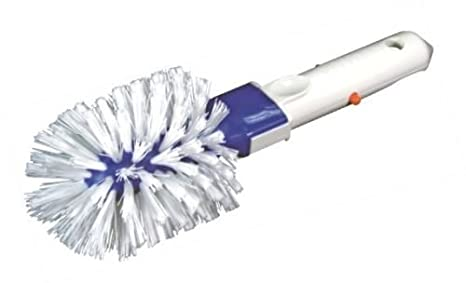 Piscina idromassaggio stagno angolo passo per piastrelle spazzola