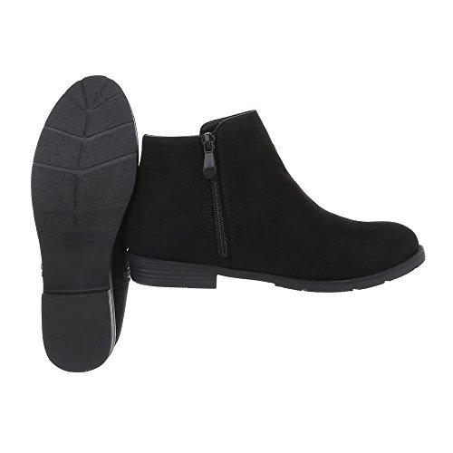Ital-Design Women's Classic Ankle Boots Black exGR0uHV
