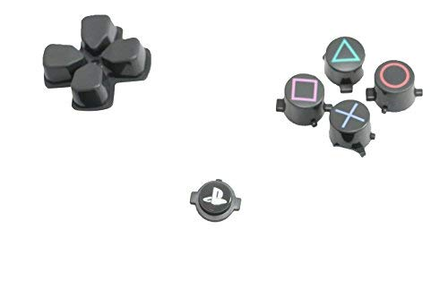 New Version CUH-ZCT2 OEM Original Sony PS4 Controller Button Kit Repair Mod Dpad, PS Button, Square/Triange/Circle/X Playstation 4 Dualshock 4