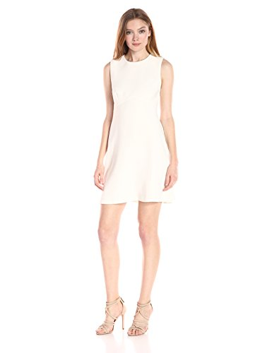 Amanda Uprichard Women's Ryder Dress, Ivory, L 31z2zq6vD3L