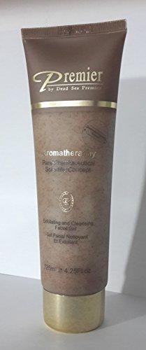 Premier Dead Sea Para-pharmaceutical Exfoliating Facial Gel, Brown, 4.3958-Fluid Ounce