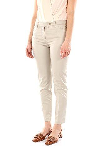 22H413LAVANDA Prada Pantalones Mujer Algodón Beige Beige