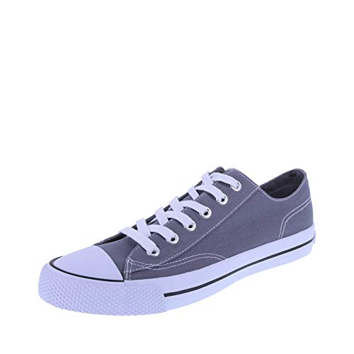 (Airwalk Men's Grey Canvas Men's Legacee Sneaker 7 Regular )