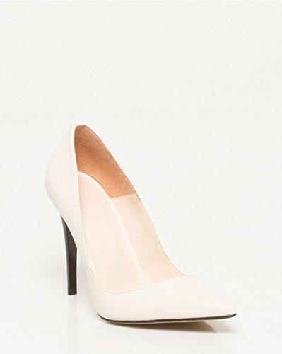 Valkoinen Kengät Nahka Teräväkärkiset Naisten Le Château Pumpun 6qzSzFw