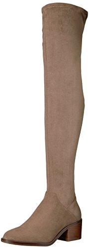 Steve Madden Women's gabbie Over The Knee Boot, Taupe, 5.5 M (Steve Madden Knee High Boots)