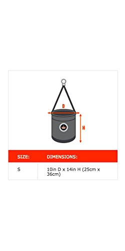 Ergodyne Arsenal 5744T 10-Inch Top Diameter by 14-Inch Height Small Bucket with Safety Top and Snap by Ergodyne (Image #1)