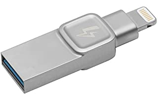 Kingston Bolt USB 3.0 Flash Drive Memory Stick for Apple iPhone & iPads with iOS 9.0+, External Expandable Memory Storage, DataTraveler Bolt Duo, Take More Photos & Videos, 32GB - Silver (B072WMZT3X) | Amazon Products