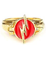 Flash Ringen Goud Kleur Film Sieraden Voor Mannen Vrouwen Ring
