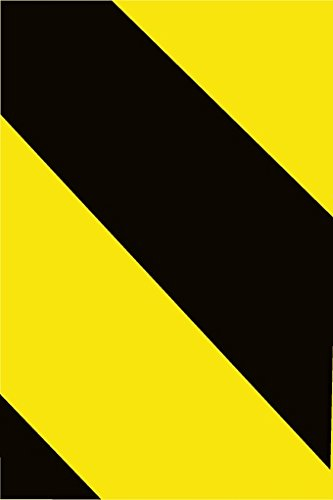 NMC RHS2BY Black/Yellow Reflective Tape, Pack of 5 Rolls