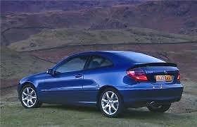 PSSC Pre Cut Rear Car Window Films Mercedes C Class Coupe 2001 to 2008 35/% Medium Tint