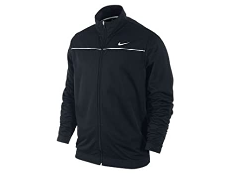 cc18bd3c Image Unavailable. Image not available for. Colour: Nike Men's Dri-Fit Zip  Up Basketball Jacket ...
