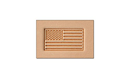 Tandy Leather Craftool 3-D Stamp American Flag 8580-00 - Flag Stamp